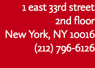 1 east 33rd street